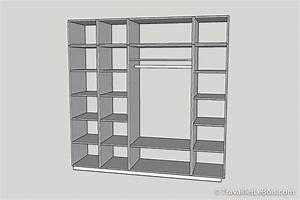 Faire Un Placard Sur Mesure : fabrication d 39 un placard 1 re partie travailler le bois ~ Premium-room.com Idées de Décoration