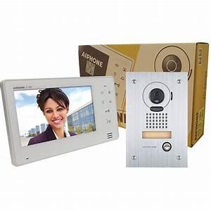 "Aiphone JO Series 7"" Monitor Video Intercom Set JOS-1F B&H"
