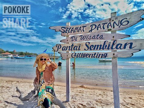 pantai sembilan destinasi favorit  pulau madura
