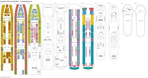 grandeur of the seas deck plans diagrams pictures video