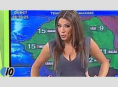 Romanian Weather Girl Roxana Vancea Is Going Viral YouTube