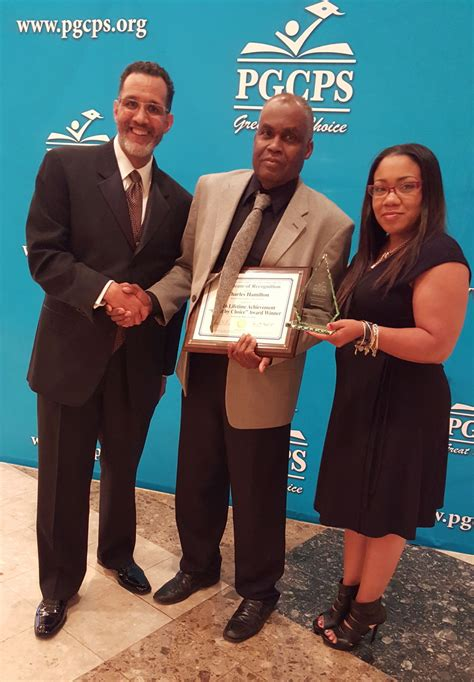 prince georges county board  education honors