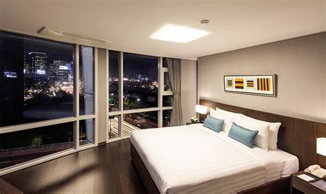 luxury apartments  seoul korea fraser place central