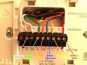 Wiring Diagram For Honeywell Thermostat Rth3100c