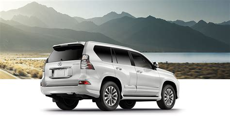 lexus gx luxury suv specifications lexuscom