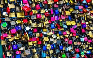 Colorful Love Locks wallpapers