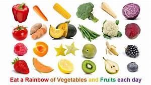 Rainbow Food and Fun   Eating a Rainbow of Vegetables and ...