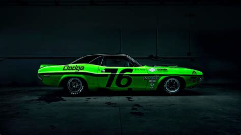 Dodge Challenger Drag Racing Wallpaper