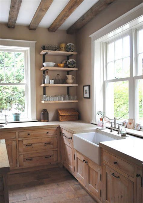 rustic farmhouse kitchen pictures   images