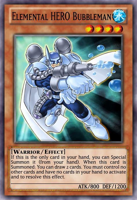 elemental hero heroes monsters deck