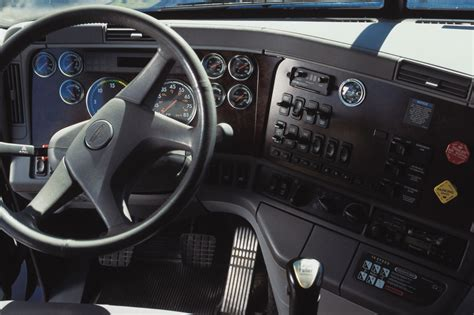 dashboard   semi truck gauges  instruments