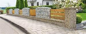 Welches Holz Für Gartenzaun : gabionenz une moderner sichtschutz f r den garten ~ Lizthompson.info Haus und Dekorationen