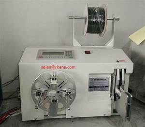 Wire Coil Winding Machine  Automatic Cable Wire Twist Tie