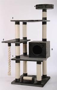 Arbre A Chaton : arbre chat pour maine coon arbre chat main coon sur ~ Premium-room.com Idées de Décoration