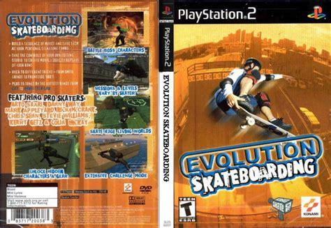 Evolution Skateboarding Ps2 D0592 Bem Vindoa