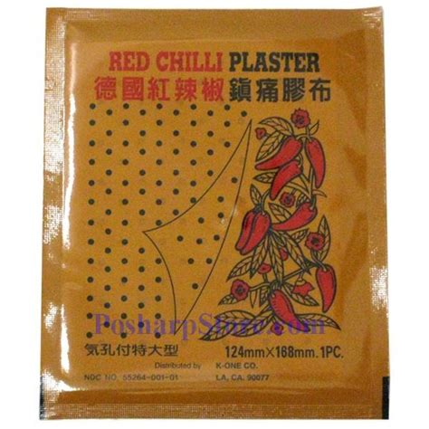 red chili plaster