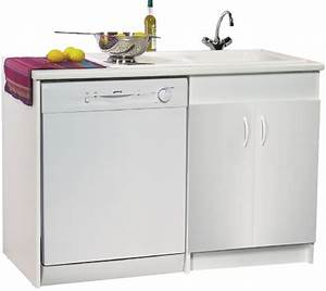 meuble cuisine avec evier et lave vaisselle cuisine With meuble sous evier avec lave vaisselle