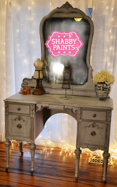 hollywood diva chalk painted vanity shabby paints