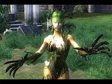 oblivion spriggan epic battle youtube