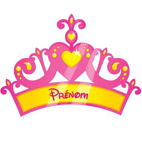 cuisine carreaux ciment sticker prénom personnalisable couronne de princesse