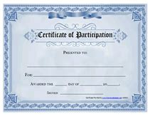 conference certificate of participation template certificate for conference instructor wording just b cause