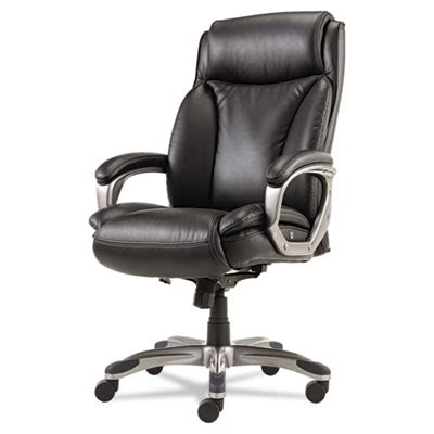 veon series executive high back leather chair w coil