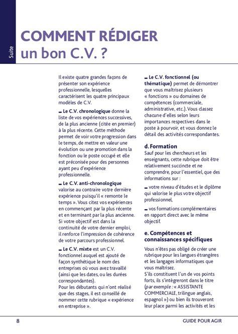 Réaliser Un Cv by 15 R 233 Aliser Un Cv Liberalarts For Wardemory
