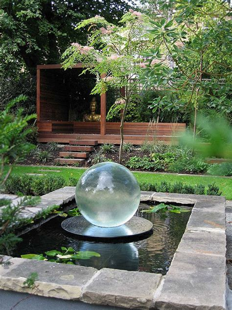outdoor water feature 30 beautiful backyard ponds and water garden ideas