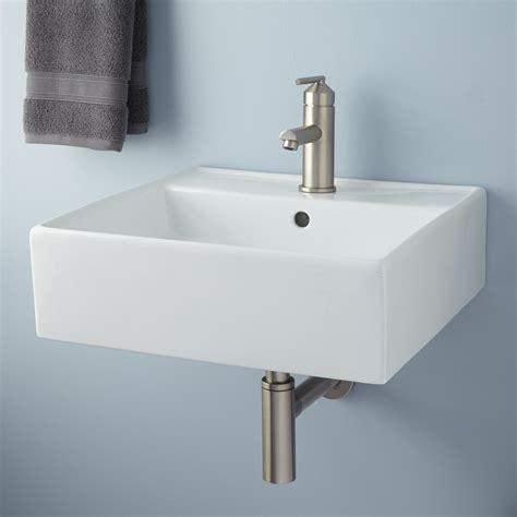 Small Wall Mounted Bathroom Sink small wall mount sink homesfeed