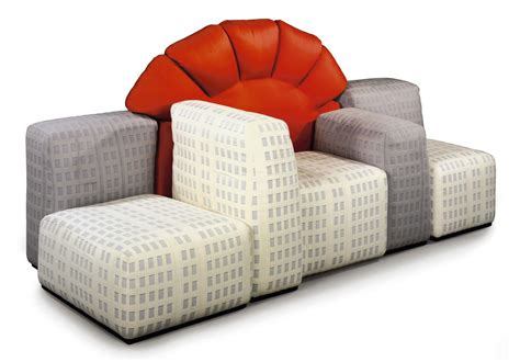 New Settee by A Gaetano Pesce New York Settee Produced By