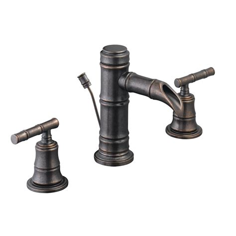 pegasus kitchen faucet pegasus bamboo 8 in widespread 2 handle low arc bathroom