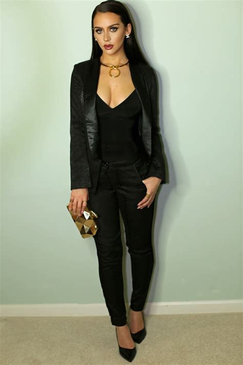 All Black Party Outfit Ideas