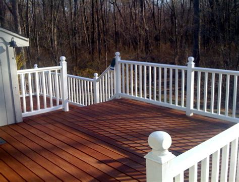 Deck Railing Ideas Home Depot by Simple Outdoor Deck With Home Depot Deck Stain Colors And