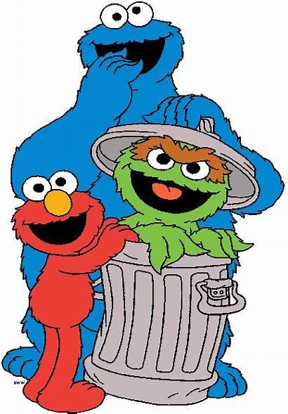 Cartoon Sesame Street Clip Clipart Oscar Cookie