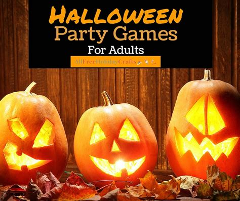 halloween party games  adults allfreeholidaycraftscom