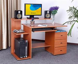 modern computer table designs best design home With computer table designs for home