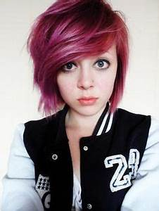 1000+ ideas about Short Dyed Hair on Pinterest | Scene ...