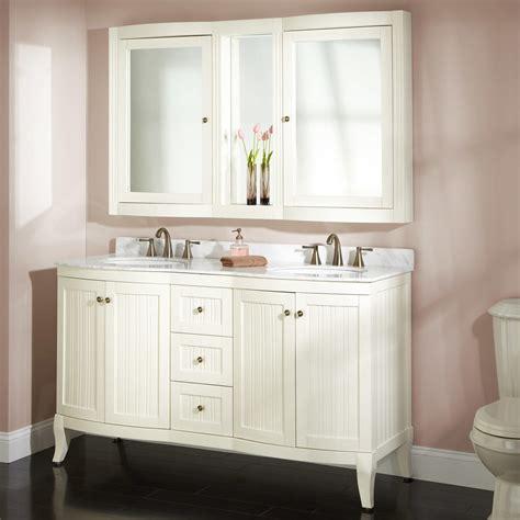 rustic medicine 60 quot palmetto white vanity set bathroom