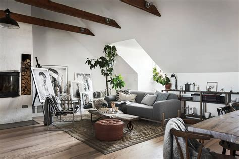 Information for all things scandinavian festival. Scandinavian Homes Build The Perfect Artist's Attic Apartment