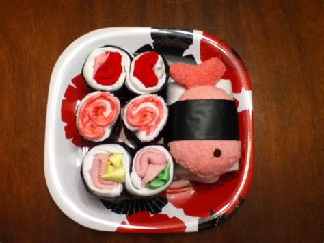 baby shower gifts for make a sushi baby shower gift dollar store crafts