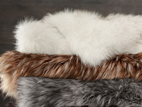 restoration hardware faux fur faux furs add panache to fall s home decor the spokesman 4791