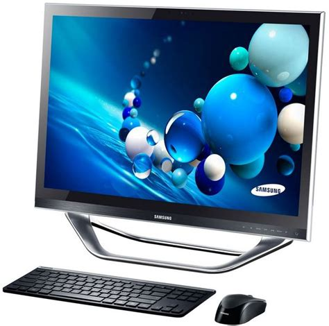 ordinateur de bureau tactile samsung at iv one 7 dp700a7d x01fr 27 pouces led tactile