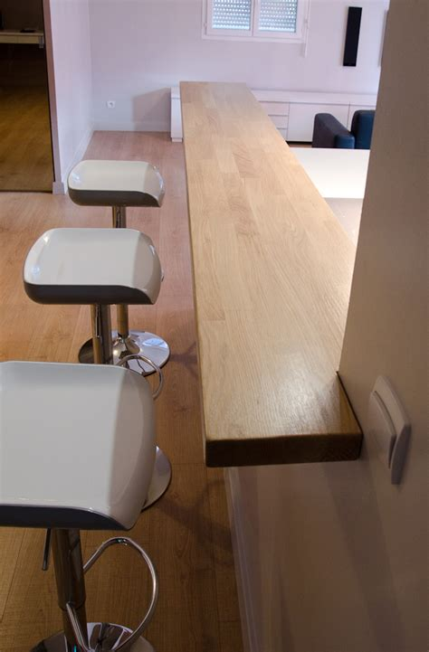 fabriquer un bar de cuisine faire bar en bois soi même le du bois