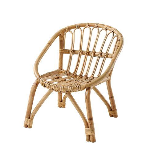 chaises enfants chaise enfant en rotin plume maisons du monde