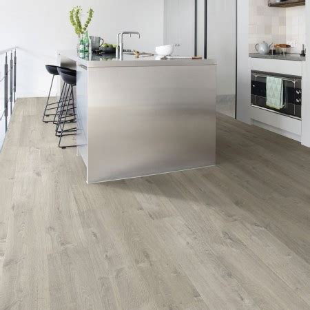 Quickstep Bathroom Flooring by Step Impressive Ultra Soft Oak Grey Imu3558 Laminate F
