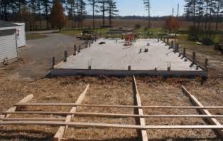 12x16 Barn Shed Material List by Easy To Building Shed Over Concrete Slab Bolk