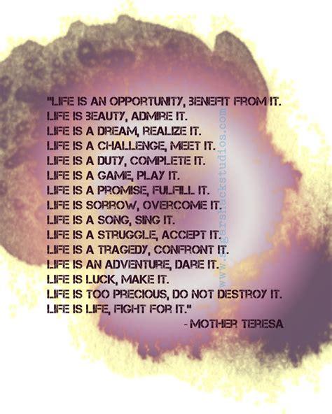 mother teresa quotes  life quotesgram