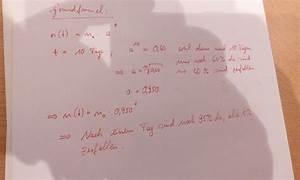 Exponentialfunktion Berechnen : exponentialfunktion von einem radioaktiven stoff barium ~ Themetempest.com Abrechnung
