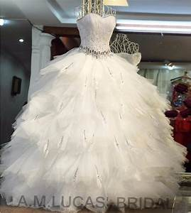 aliexpresscom buy luxury ball gown wedding dresses 2017 With feather wedding dress