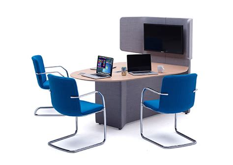 The Desk by Away From The Desk Soft Seating By Vision Projects